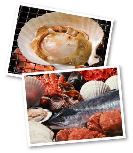 魚介類の写真