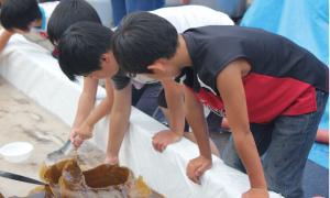 画像:ふれあい水族館