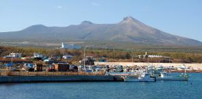 画像:出来澗漁港