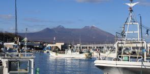 画像:鹿部漁港